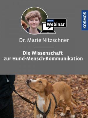 Buch Marie Nitzschner - Die Wissenschaft zur Hund-Mensch-Kommunikation